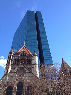 trinity-church-hankock-tower-boston